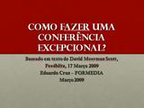 Conferências Excepcionais
